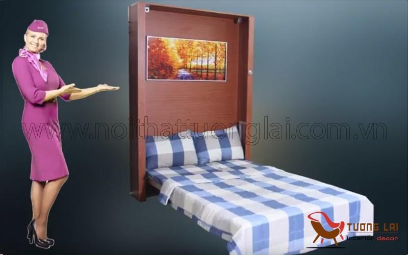 Giường gấp gọn, giường ngủ xếp gọn, giường ngủ thông minh
