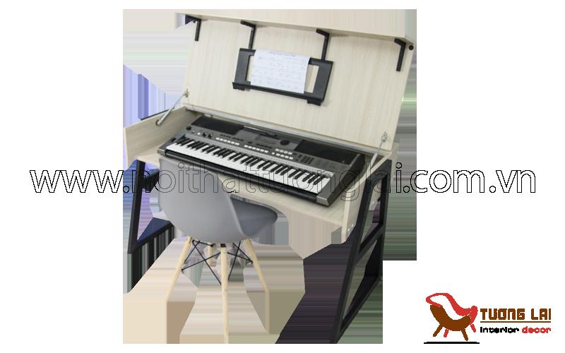 Bàn học thông minh- kết hợp đàn piano