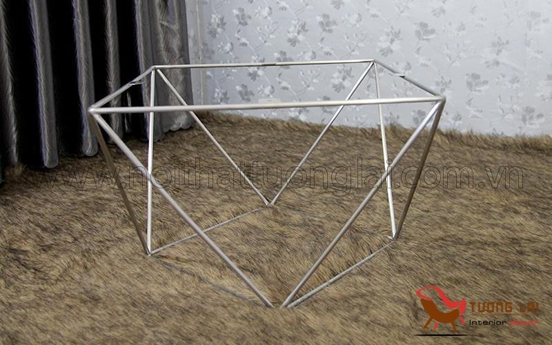 Chân bàn sofa inox hình kiểu