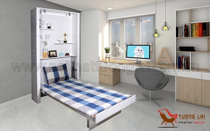Giường gấp thông minh -Giường xếp gọn thông minh-Giường ngủ