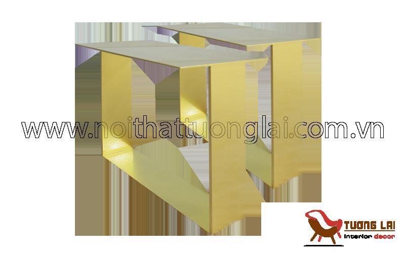 Gia công inox sắt - chân bàn sofa sắt la